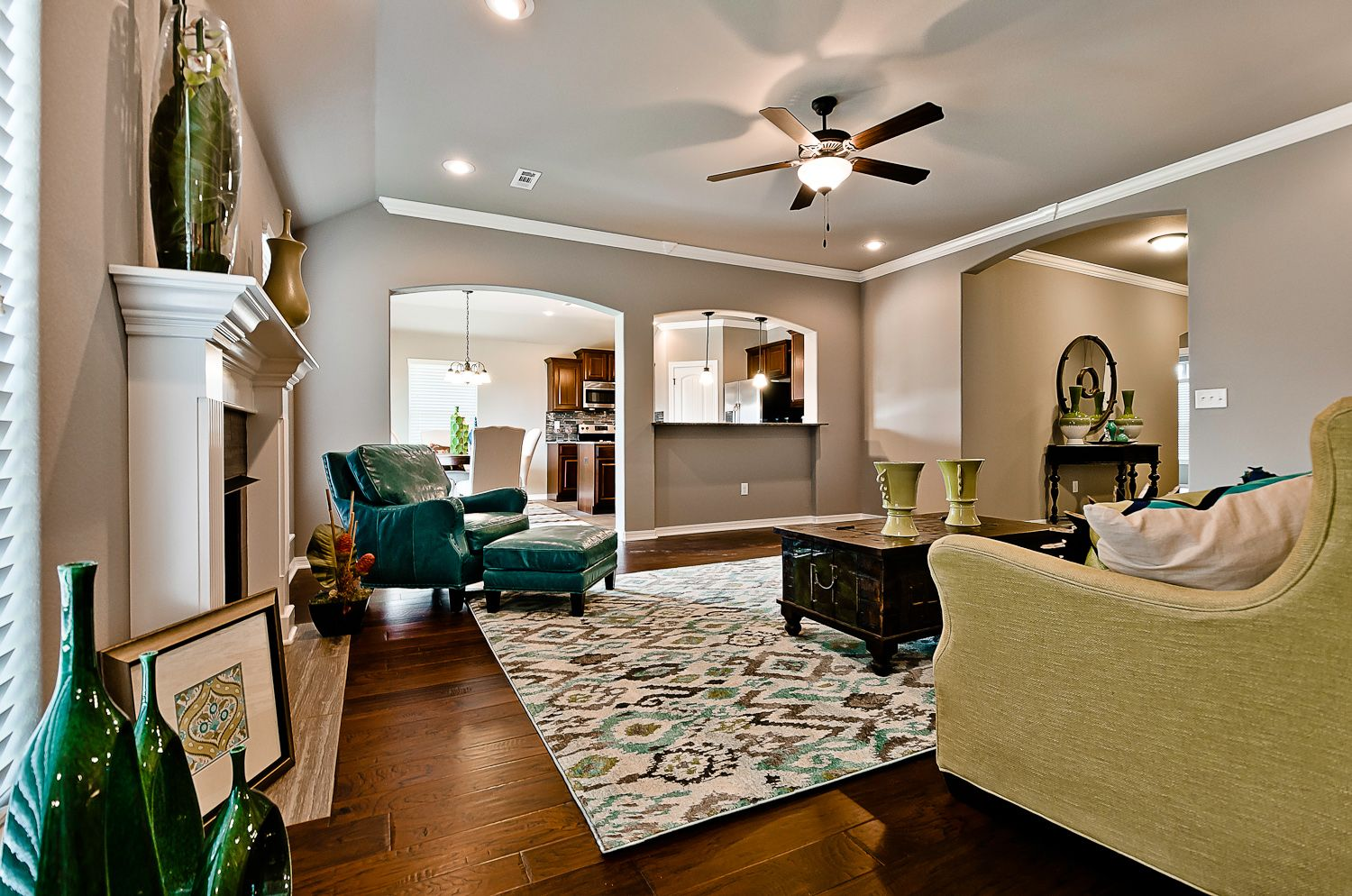 Living Area featured in the Magnolia 1556 By Riverwood Homes - Arkansas in Fayetteville, AR