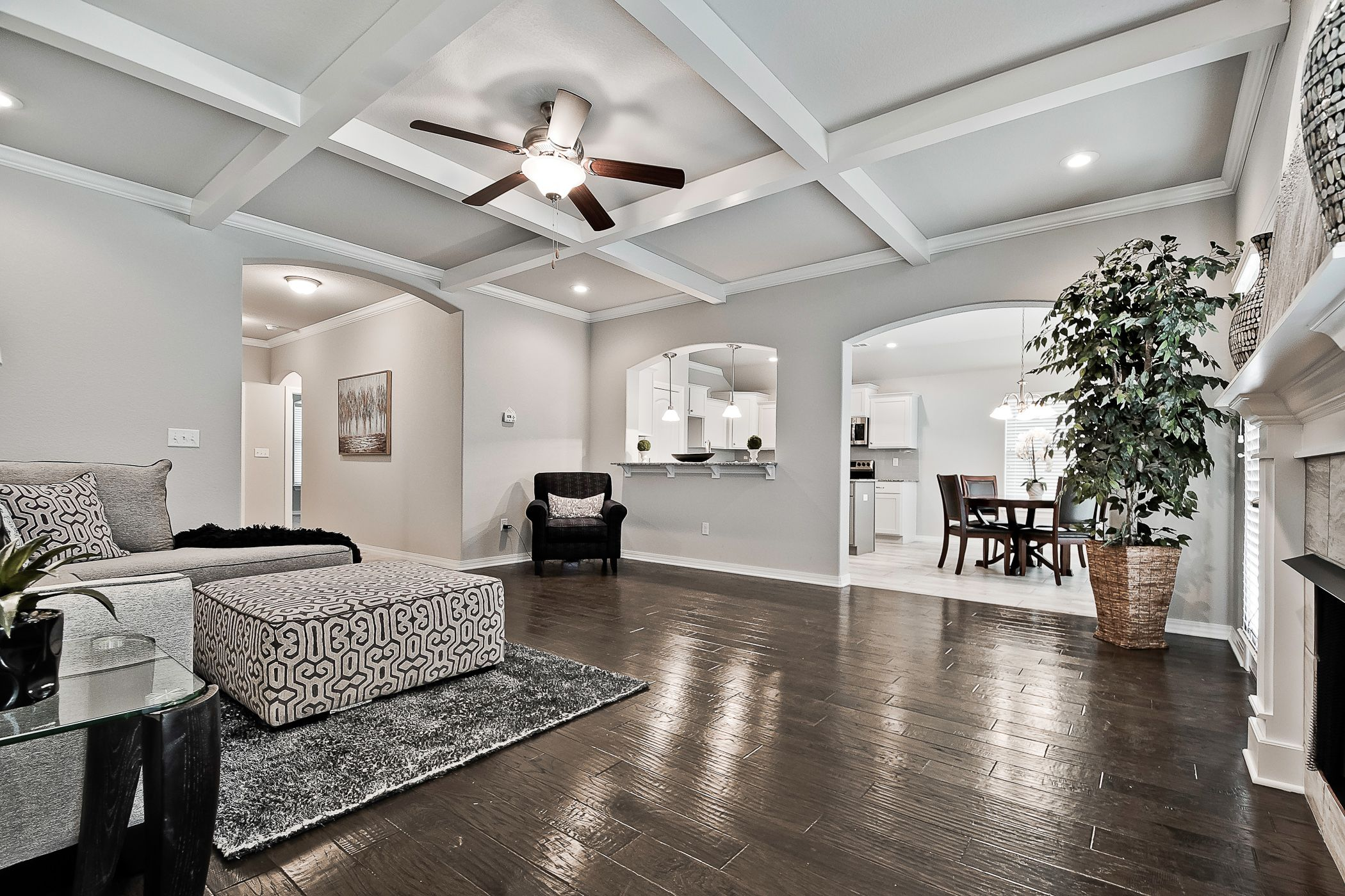 Bedroom featured in the 1659 By Riverwood Homes - Arkansas in Fayetteville, AR
