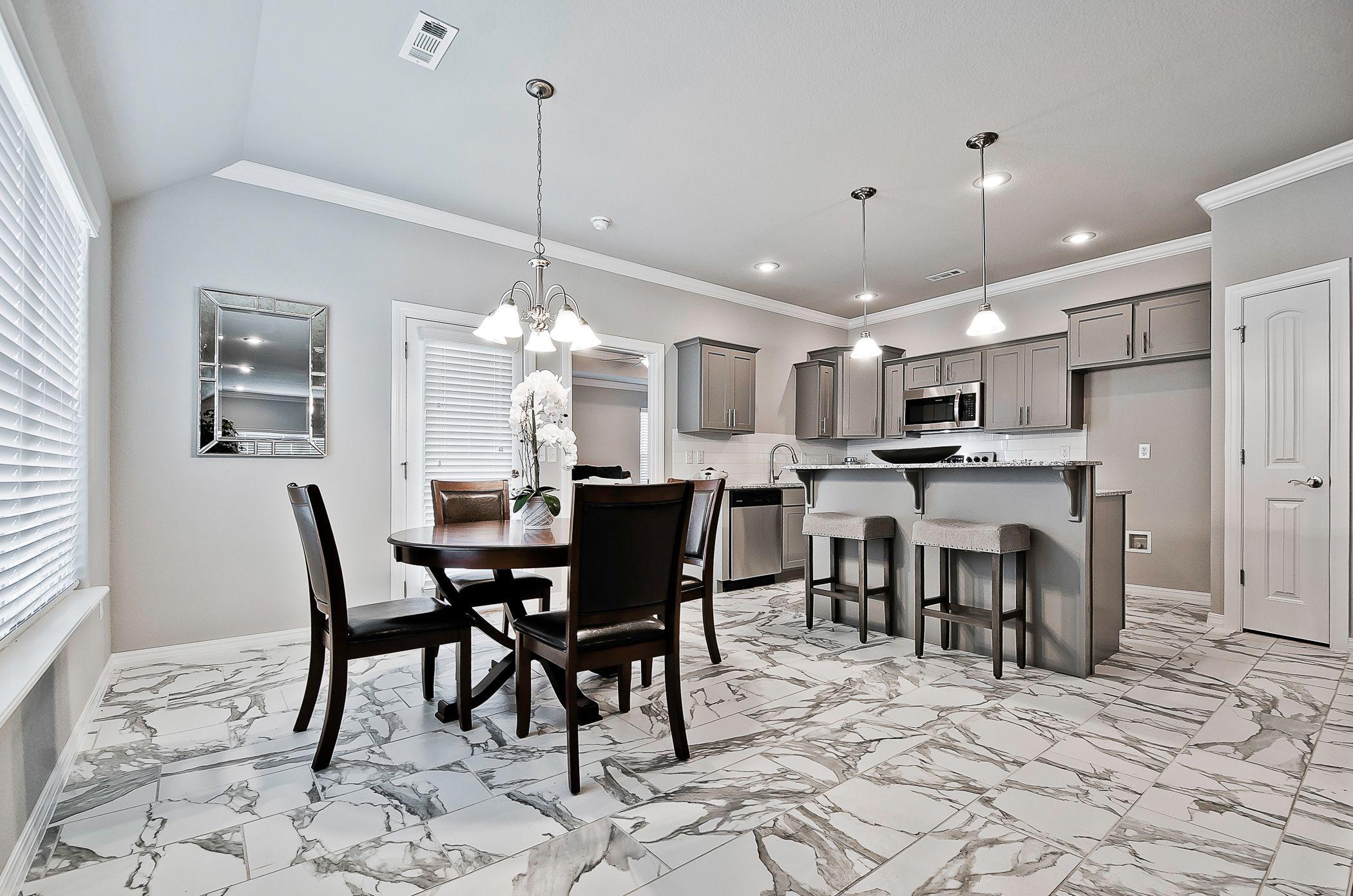 Kitchen featured in the Oak 1463 By Riverwood Homes - Arkansas in Fayetteville, AR