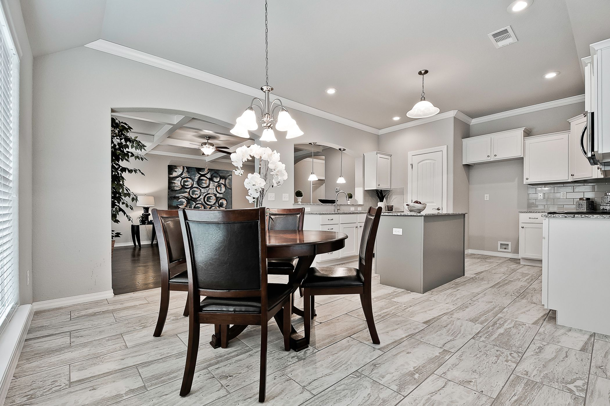 Kitchen featured in the Maple 1659 By Riverwood Homes - Arkansas in Fayetteville, AR
