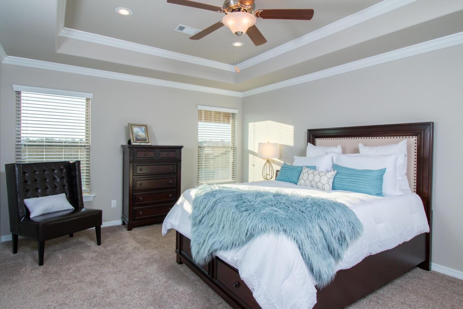 Bedroom featured in the 1862 By Riverwood Homes - Arkansas in Fayetteville, AR