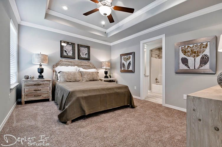 Bedroom featured in the 1358 By Riverwood Homes - Arkansas in Fayetteville, AR