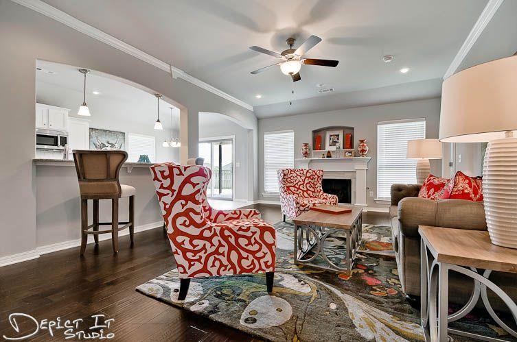 Living Area featured in the Spruce 1358 By Riverwood Homes - Arkansas in Fayetteville, AR