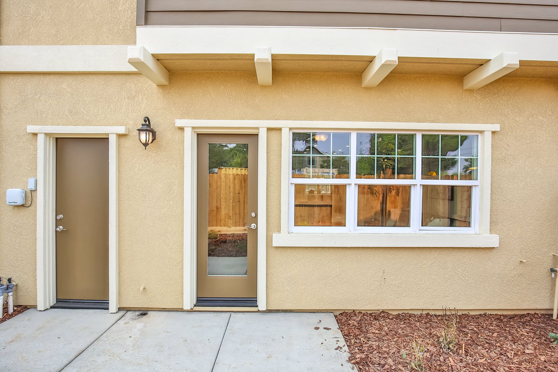 Exterior featured in the Residence 1842 By Village by the Ponds  in Sacramento, CA