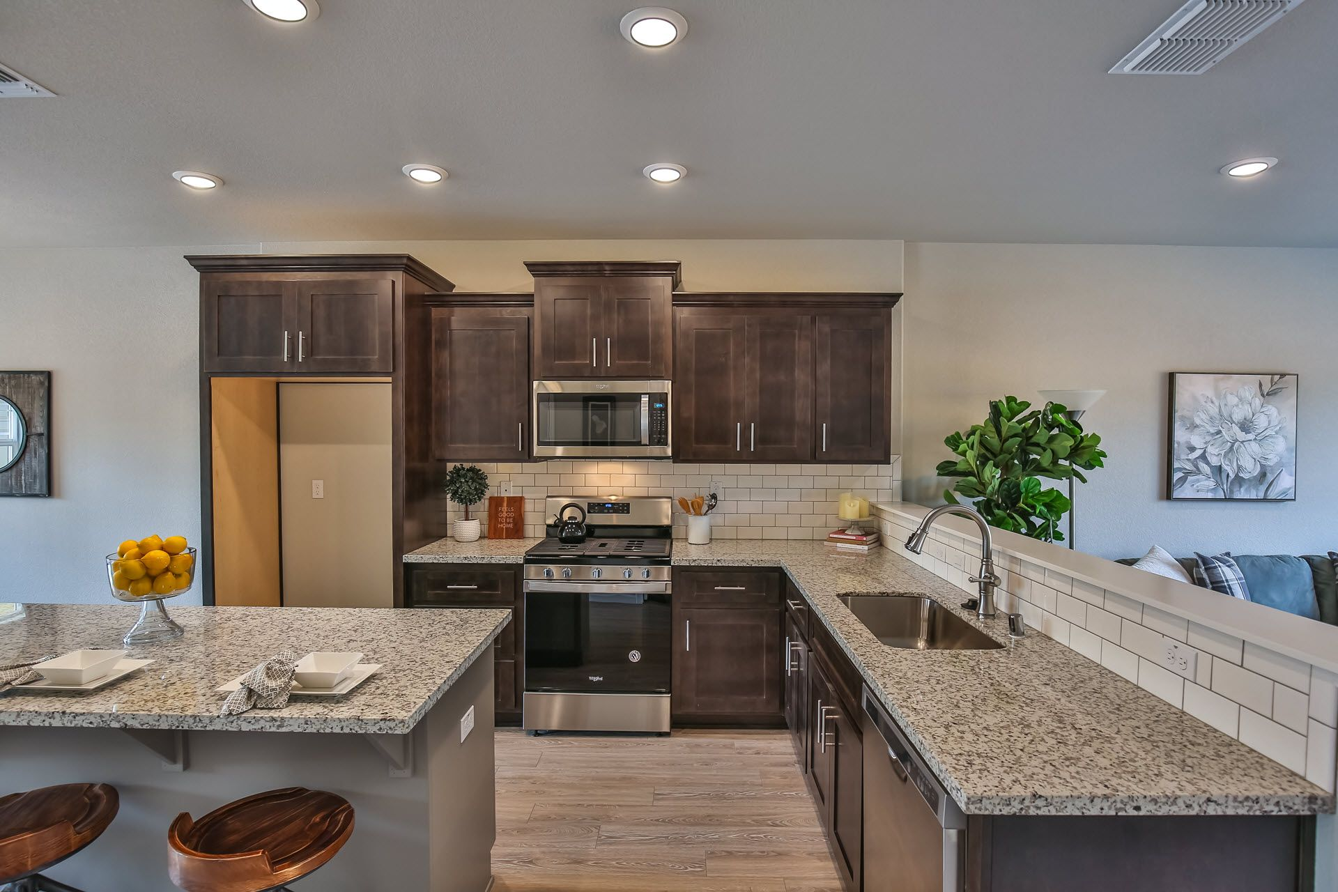 Kitchen featured in the Residence 1842 By Village by the Ponds  in Sacramento, CA