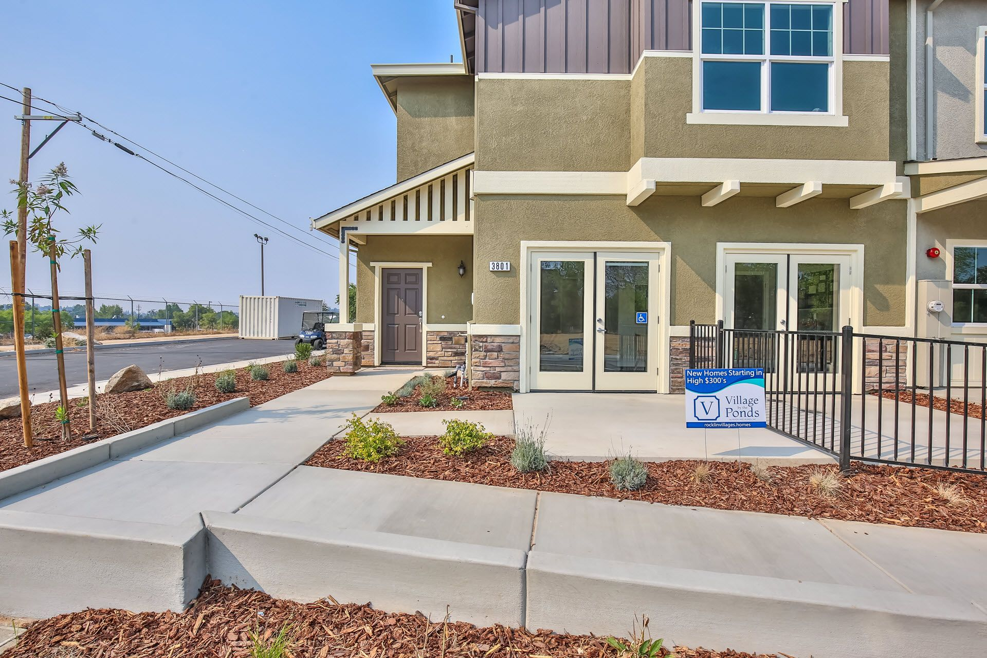 Exterior featured in the Residence 2059 By Village by the Ponds  in Sacramento, CA