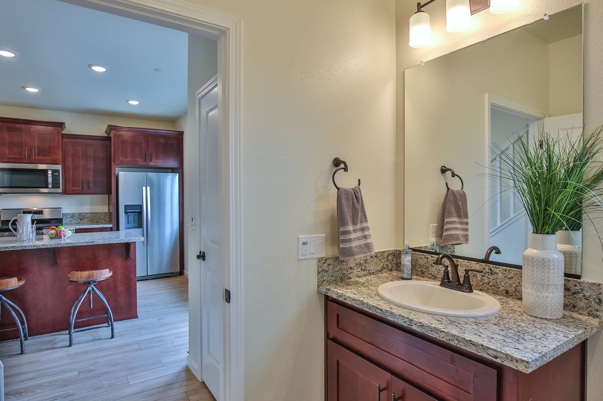 Bathroom featured in the Residence 1665 By Village by the Ponds  in Sacramento, CA