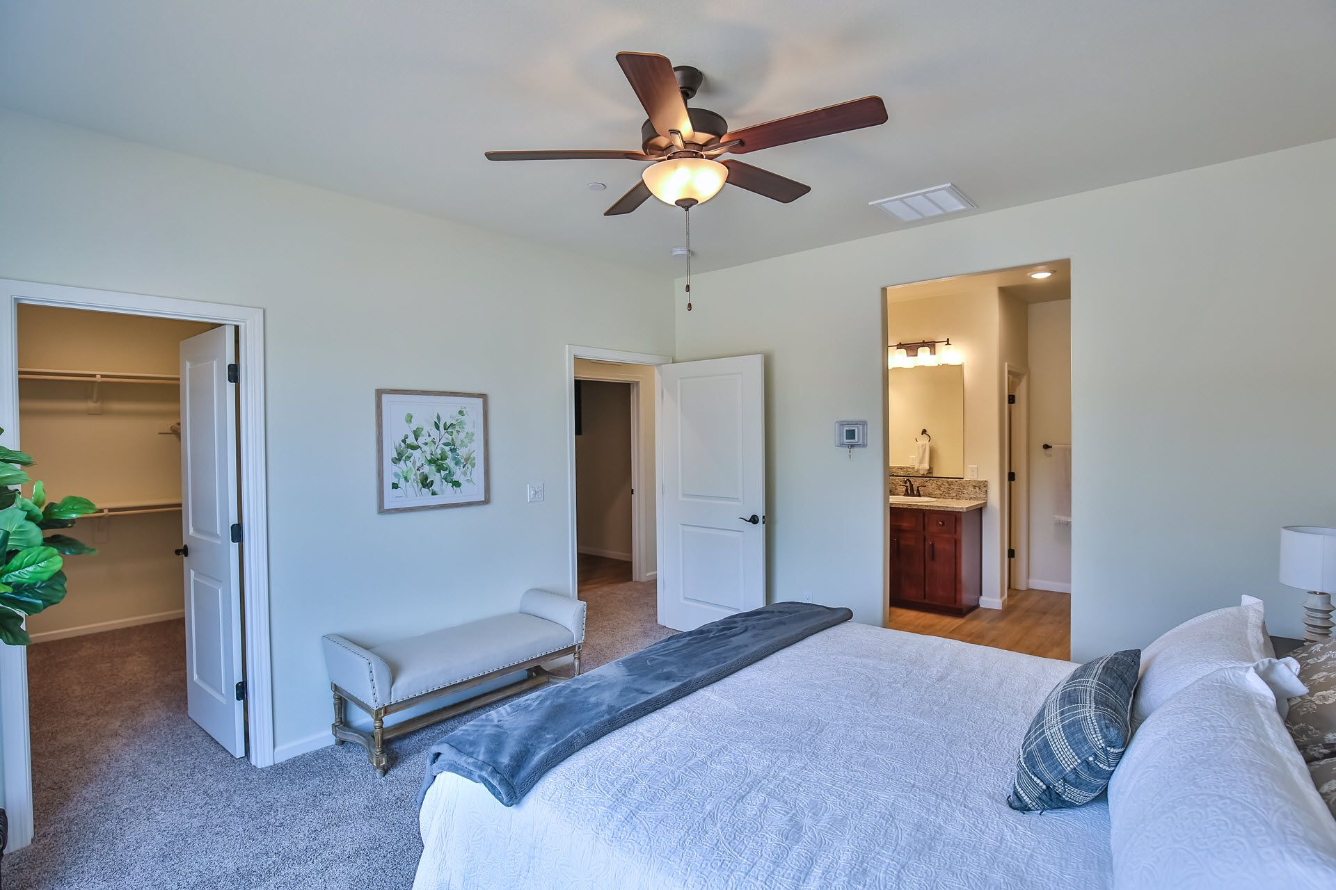 Bedroom featured in the Residence 1665 By Village by the Ponds  in Sacramento, CA
