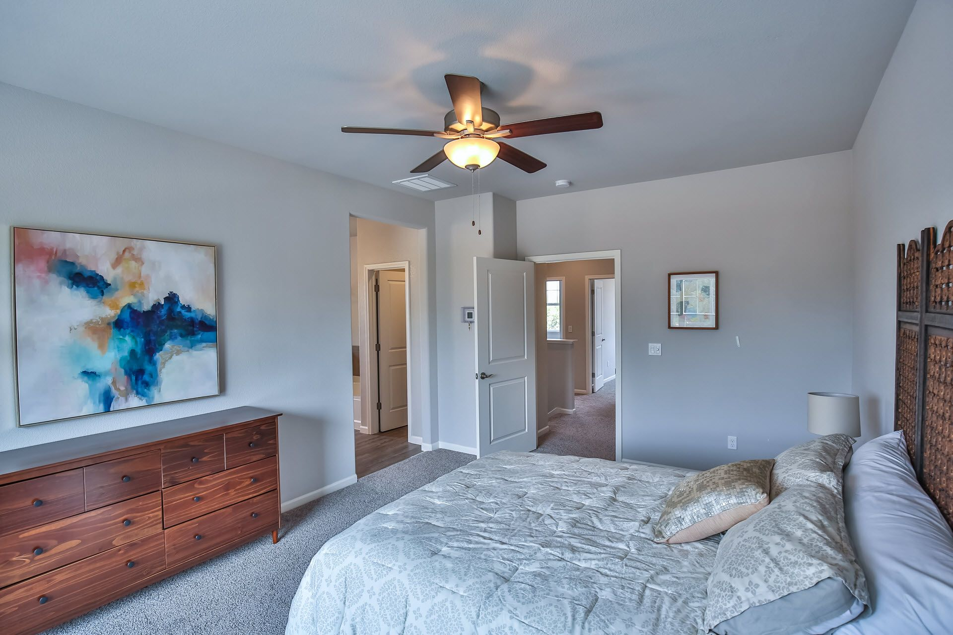 Bedroom featured in the Residence 1669 By Village by the Ponds  in Sacramento, CA