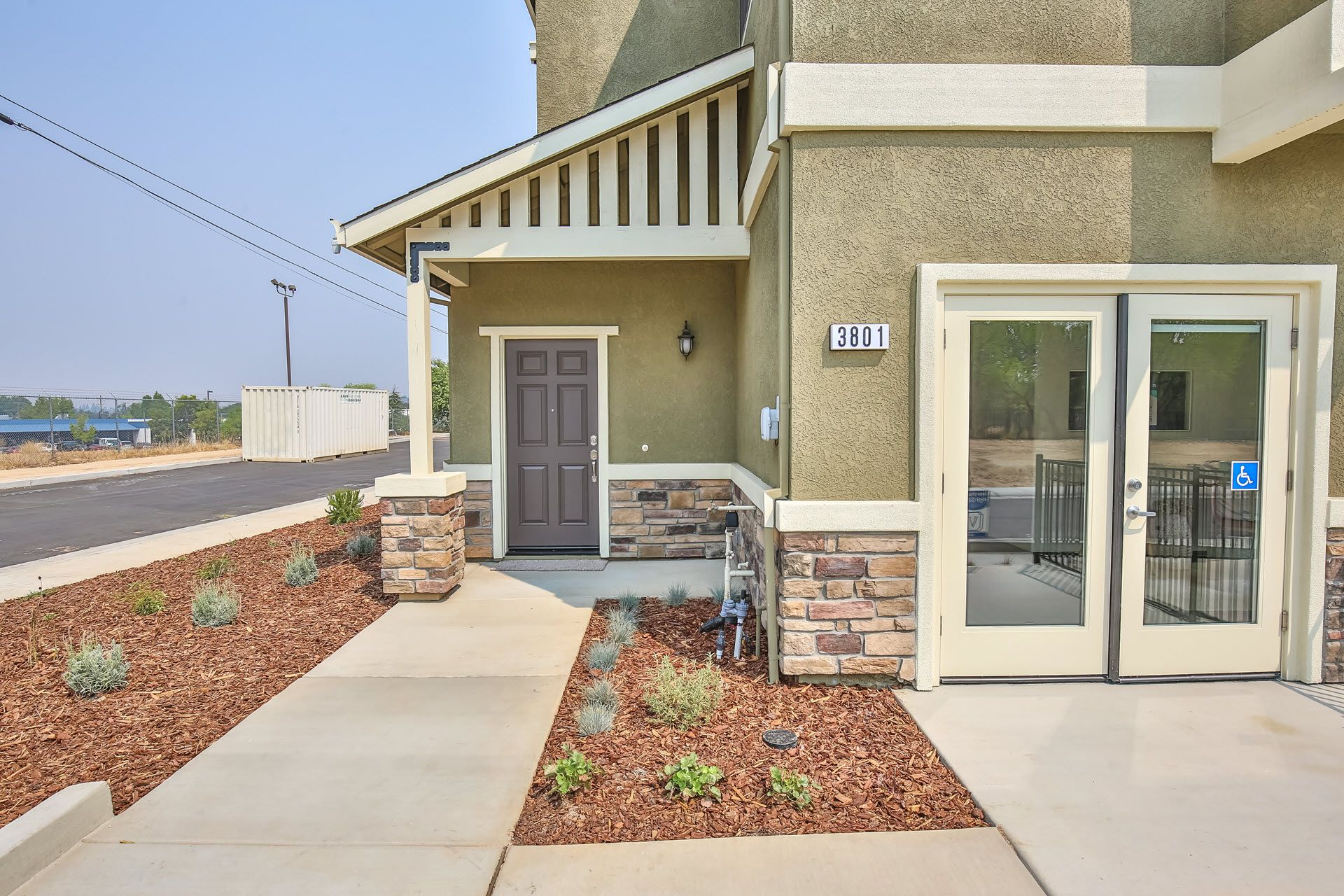 Exterior featured in the Residence 1669 By Village by the Ponds  in Sacramento, CA