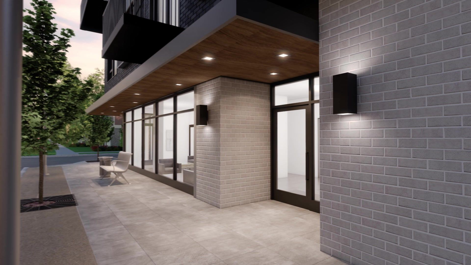 Patio-in-501 PLAN-at-750 Forest-in-Birmingham