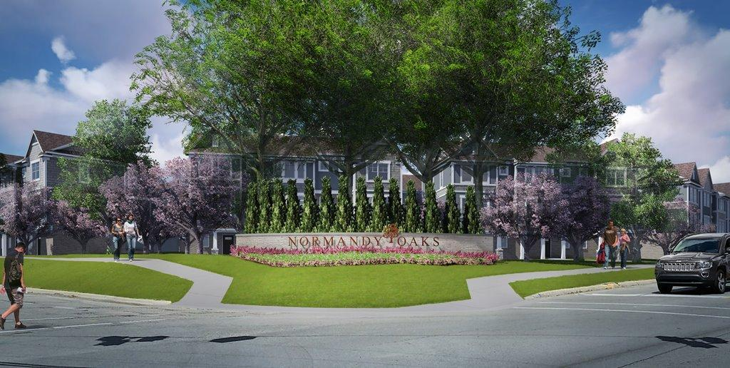 'Normandy Square' by Robertson Brothers in Detroit