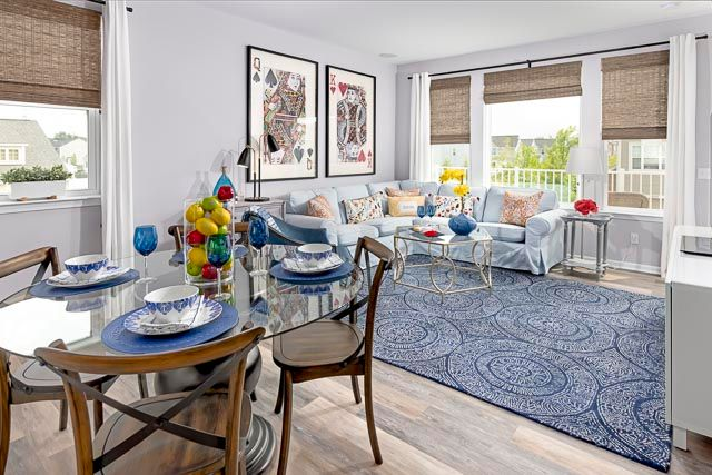 Greatroom-and-Dining-in-Oak at Parkdale Townes-at-Parkdale Townes-in-Ferndale