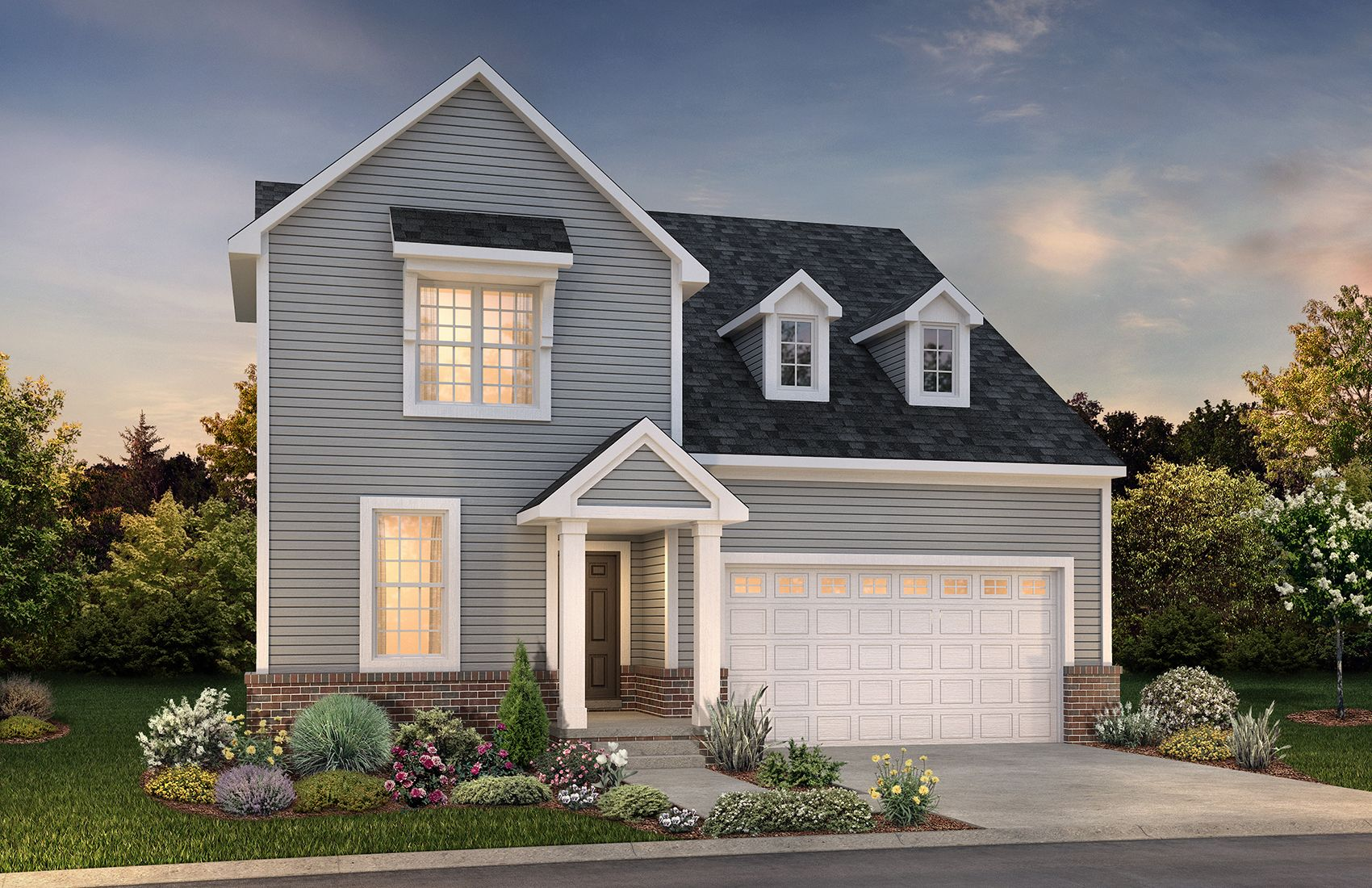 Exterior featured in the Charleston By Robertson Brothers  in Detroit, MI