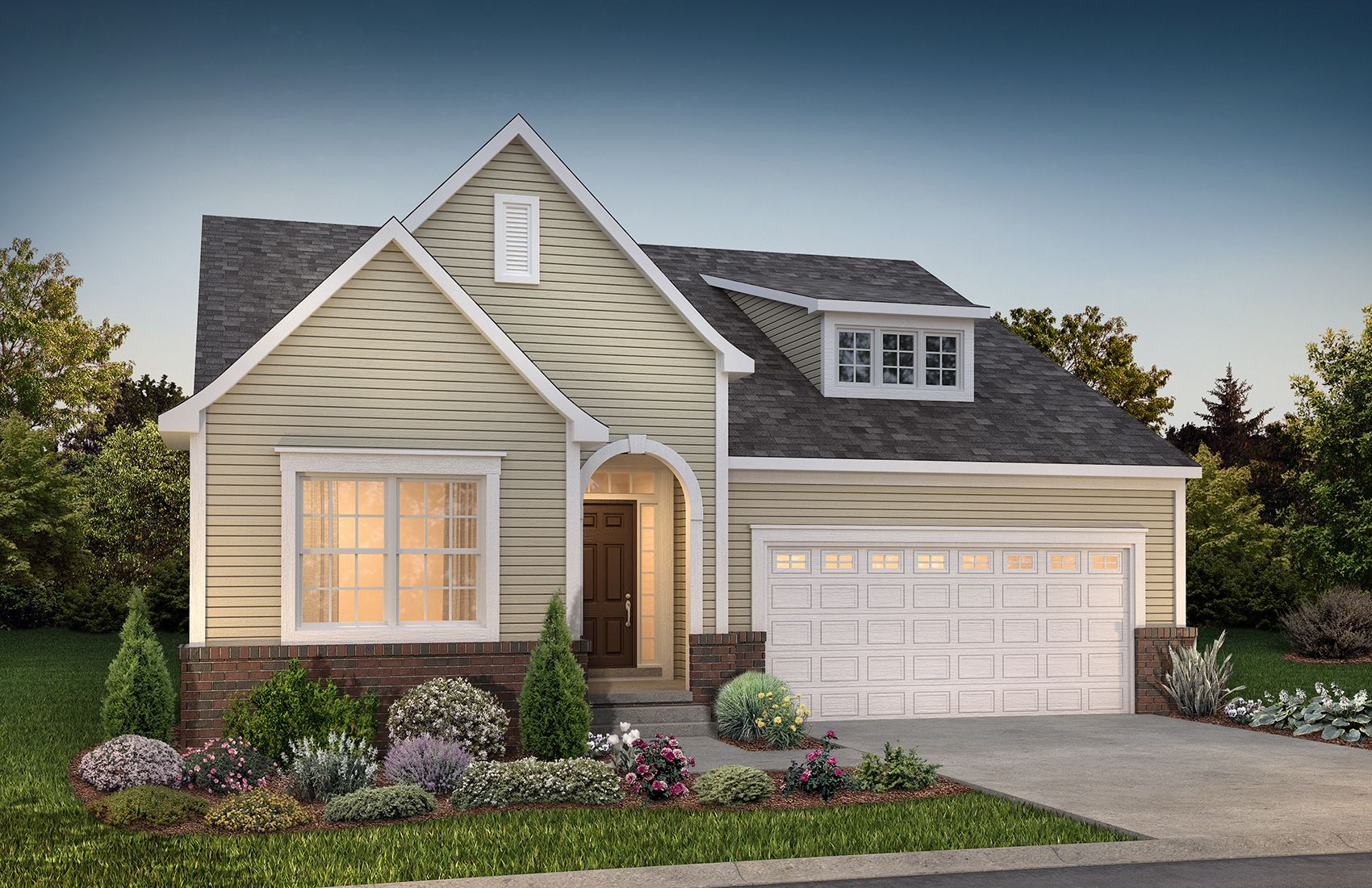 Exterior featured in the Richmond at Lakeview By Robertson Brothers  in Detroit, MI