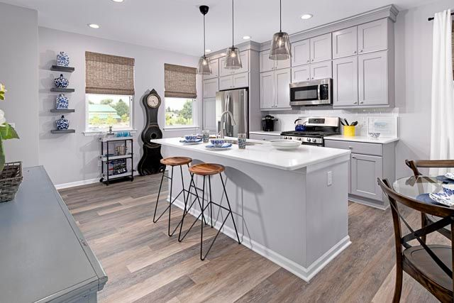 Kitchen featured in the Oak at Encore Townes By Robertson Brothers  in Detroit, MI