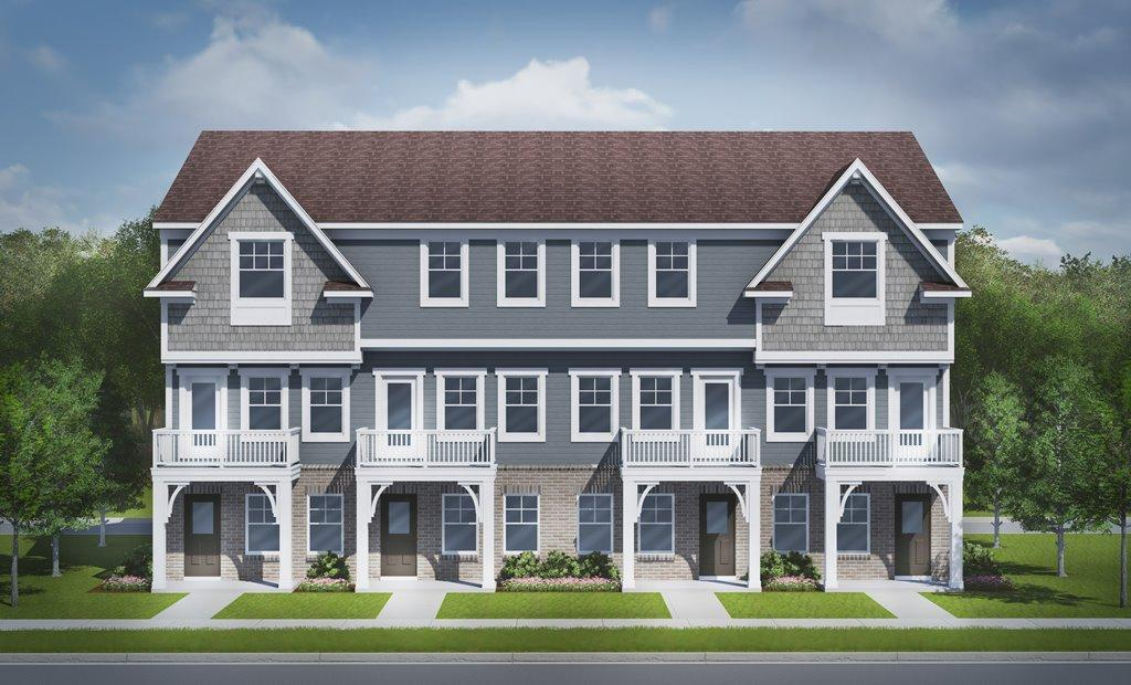 Exterior featured in the Aspen at Parkdale Townes By Robertson Brothers  in Detroit, MI
