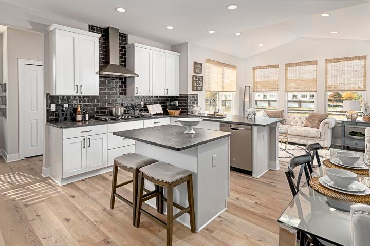 Kitchen featured in the Charleston By Robertson Brothers  in Detroit, MI