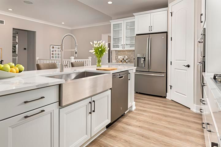 Kitchen featured in the Raleigh at Brewster Village By Robertson Brothers  in Detroit, MI