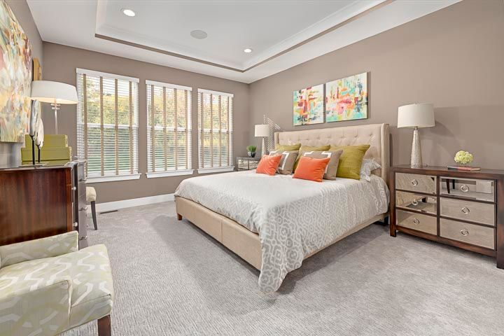 Bedroom featured in the Raleigh at Brewster Village By Robertson Brothers  in Detroit, MI