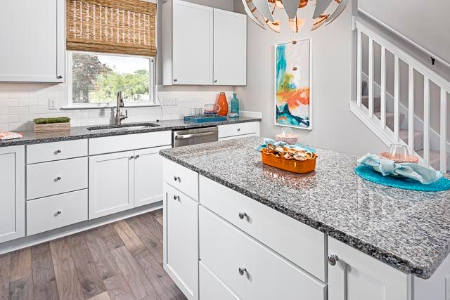 Kitchen featured in the Emerald at Long Lake Square By Robertson Brothers  in Detroit, MI