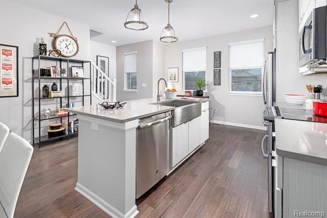 Kitchen featured in the Oak at Parkdale Townes By Robertson Brothers  in Detroit, MI