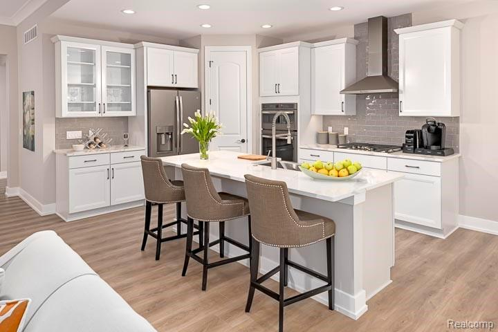 Kitchen featured in the Raleigh By Robertson Brothers  in Detroit, MI