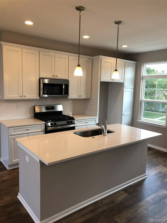 Kitchen featured in the Cedar at Normandy Square By Robertson Brothers  in Detroit, MI