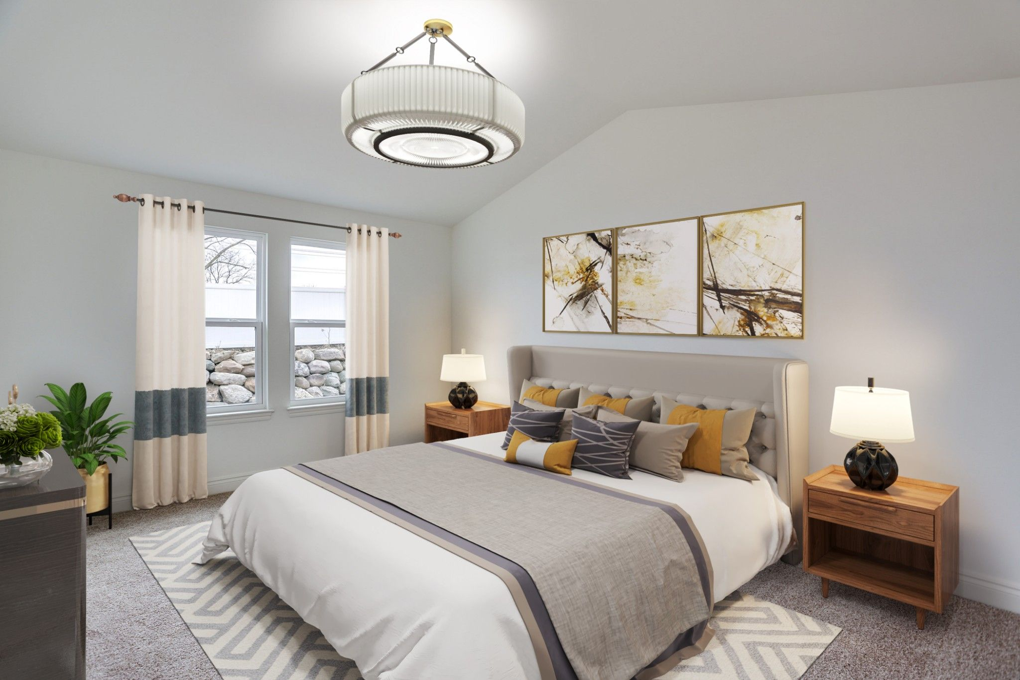 Bedroom featured in the Richmond at Lakeview By Robertson Brothers  in Detroit, MI