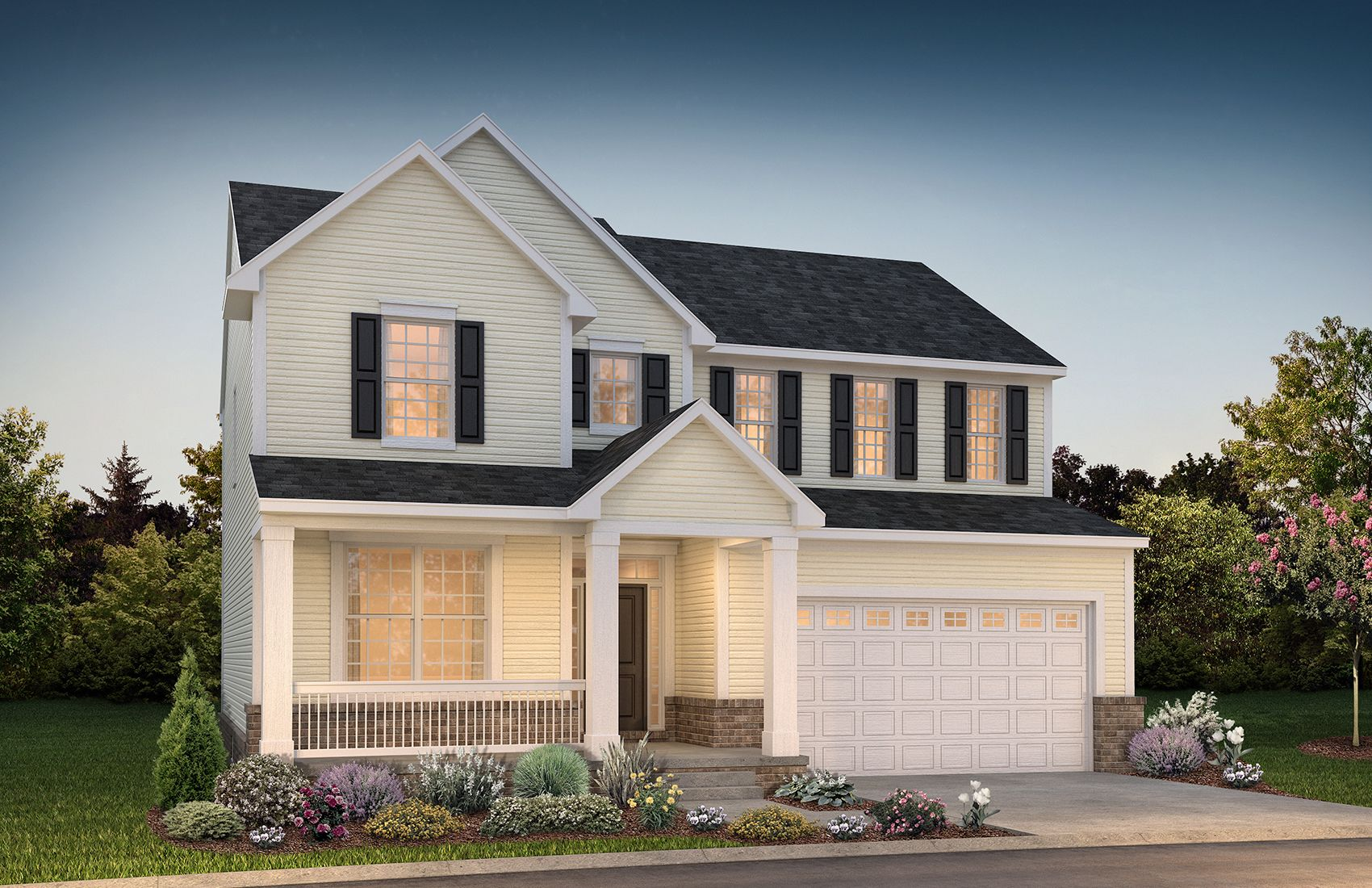 Exterior featured in the Yorktown at Lakeview By Robertson Brothers  in Detroit, MI