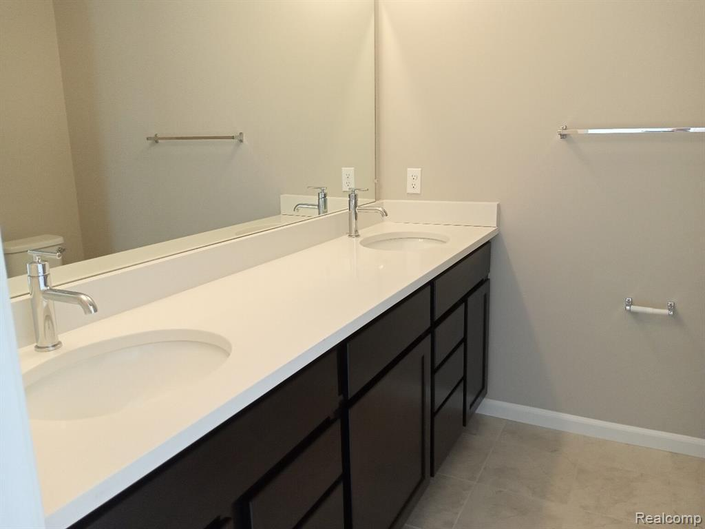 Bathroom featured in the Cedar at Encore Townes By Robertson Brothers  in Detroit, MI