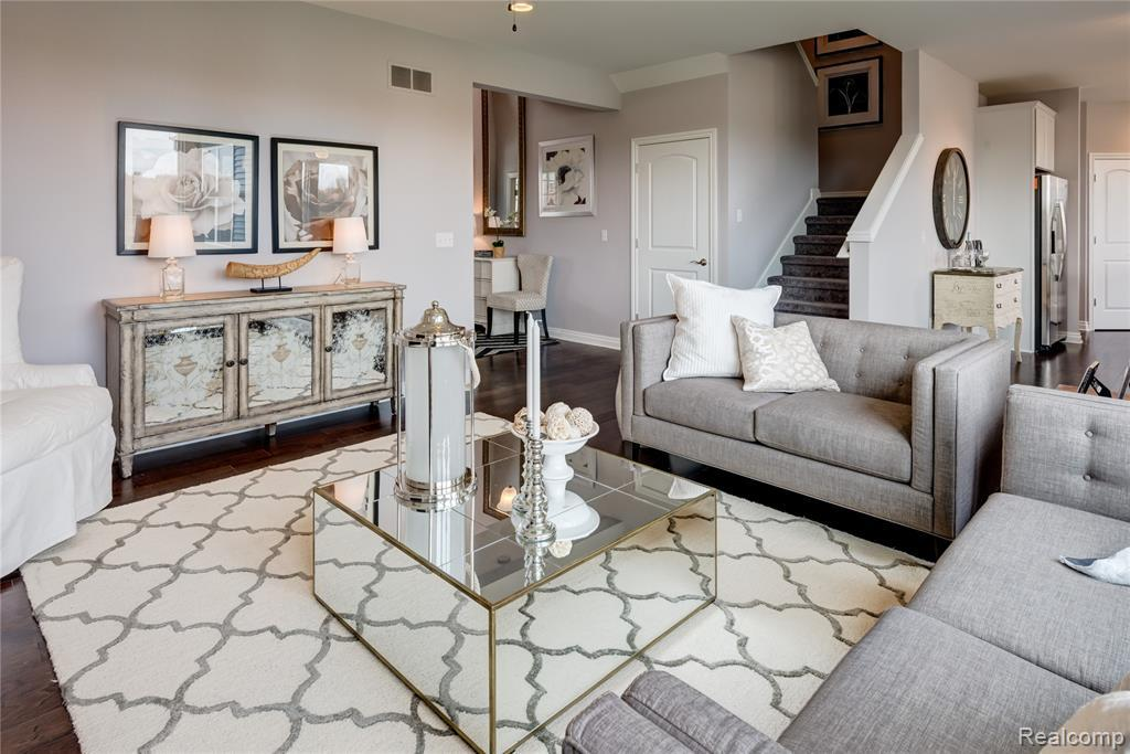 Living Area featured in the Yorktown at Lakeview By Robertson Brothers  in Detroit, MI