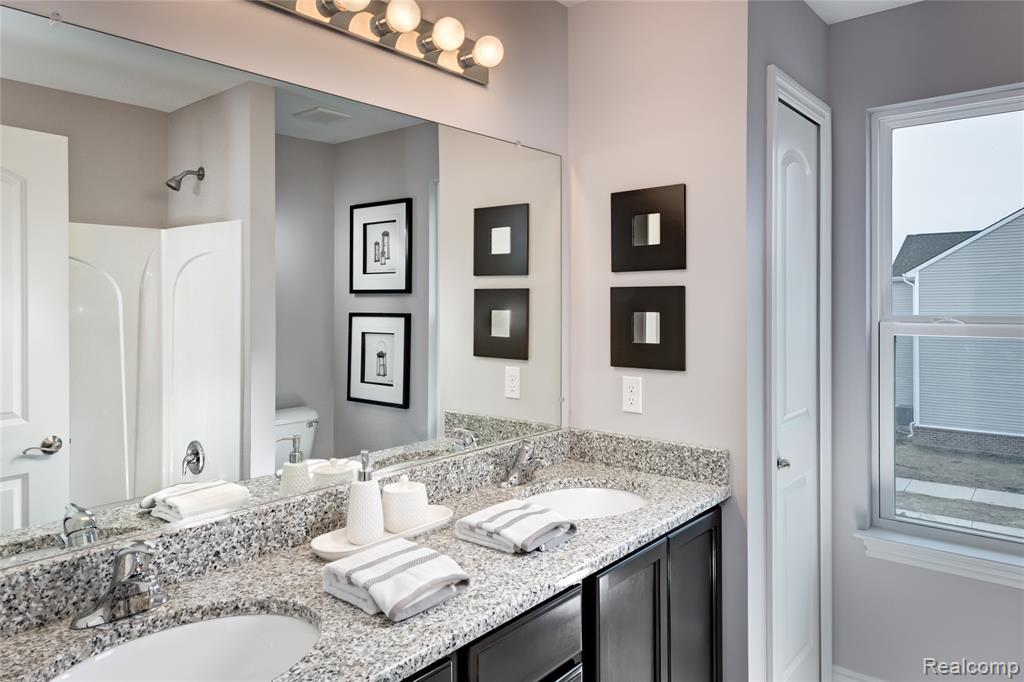 Bathroom featured in the Yorktown at Lakeview By Robertson Brothers  in Detroit, MI