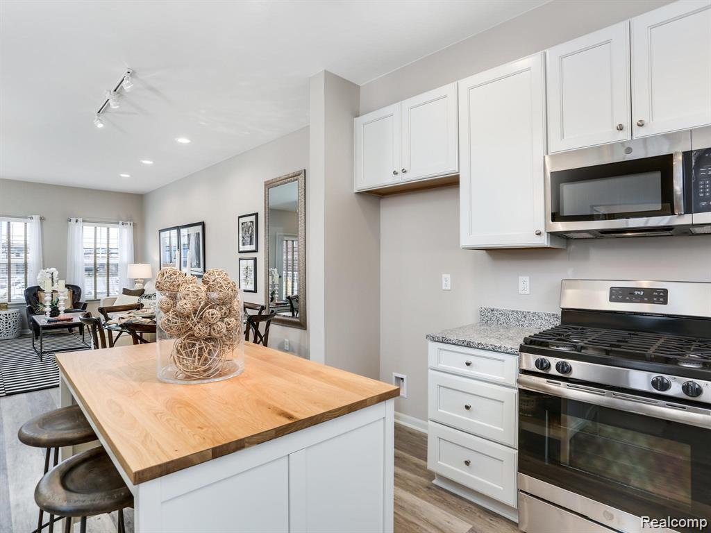 Kitchen featured in the Aspen at Riverside Townes By Robertson Brothers  in Detroit, MI