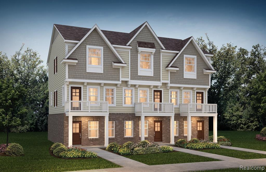 Exterior featured in the 401 Jeff Keeton Drive #40 By Robertson Brothers  in Detroit, MI