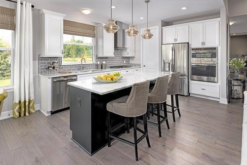 Kitchen-in-Hampton-at-Mill Ridge of Northville-in-Northville