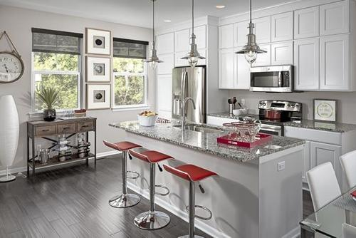 Kitchen-in-Oak at Normandy Square-at-Normandy Square-in-Royal Oak