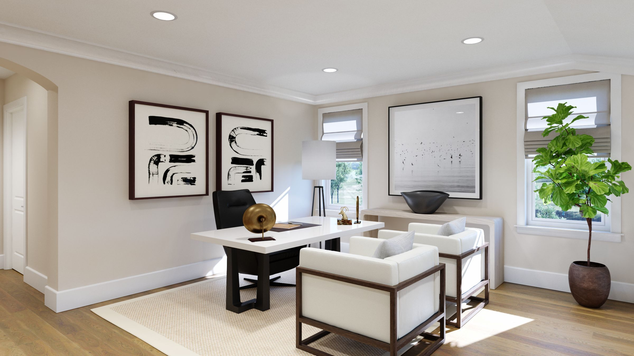 Living Area featured in The Monarch By Robson Homes in Oakland-Alameda, CA