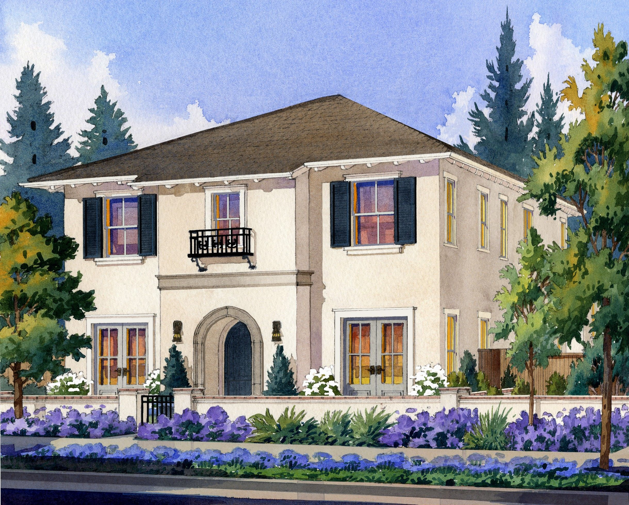 Exterior featured in The Catalina By Robson Homes in San Jose, CA