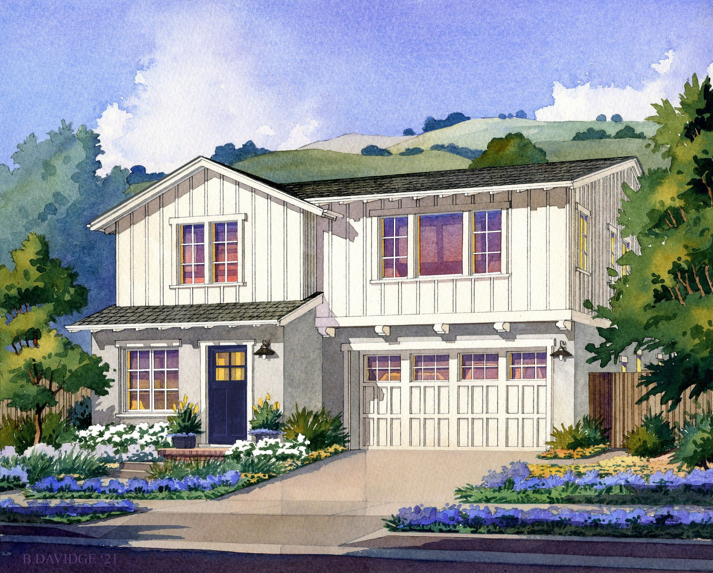 Exterior featured in The Lupine By Robson Homes in San Jose, CA