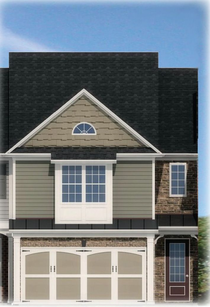 Exterior featured in the Crawford By Rocklyn Homes in Atlanta, GA