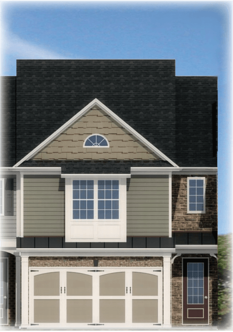 Exterior featured in the Bradberry By Rocklyn Homes in Atlanta, GA