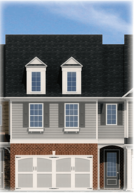 Exterior featured in the Crestwood By Rocklyn Homes in Atlanta, GA