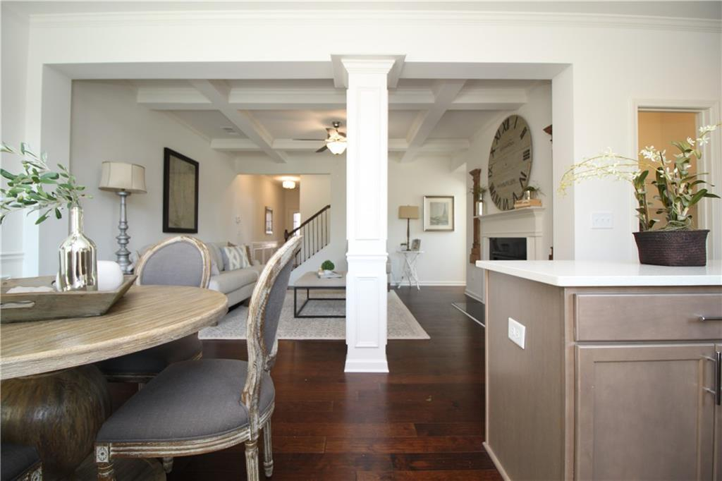 Living Area featured in the Linton By Rocklyn Homes in Atlanta, GA