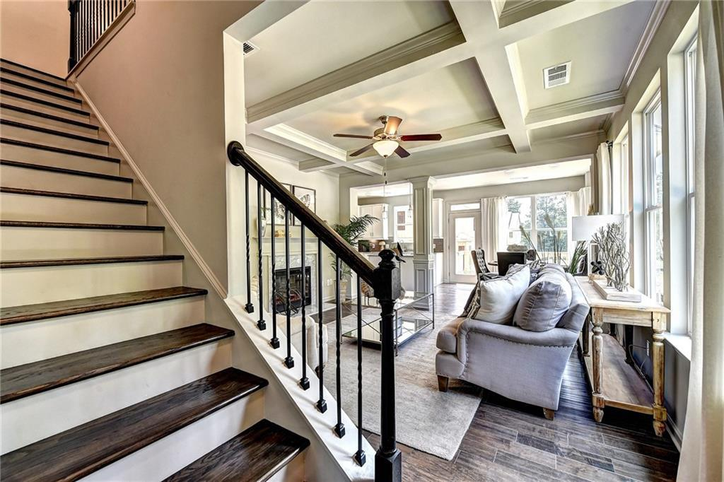 Living Area featured in the Redland By Rocklyn Homes in Atlanta, GA