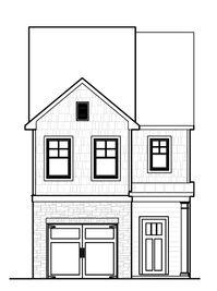 Marlin - Townes of Auburn: Auburn, Georgia - Rocklyn Homes