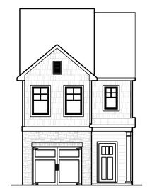 Melbourne - Townes of Auburn: Auburn, Georgia - Rocklyn Homes