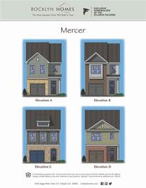 Mercer - Princeton Ridge: Stonecrest, Georgia - Rocklyn Homes