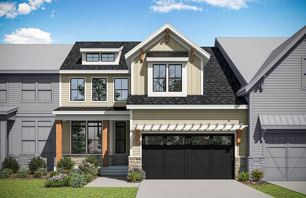 Exterior featured in the Ashburn By Rockwell Custom in Philadelphia, PA