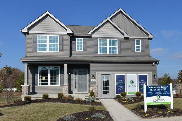 Barkley Model:The beautiful two-story Barkley Model Home is ready for you to tour